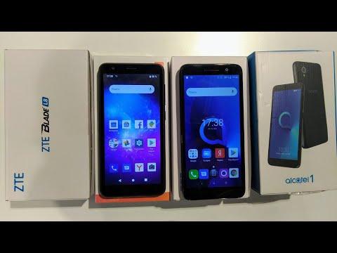 Alcatel 1 против ZTE L8, что выбрать?