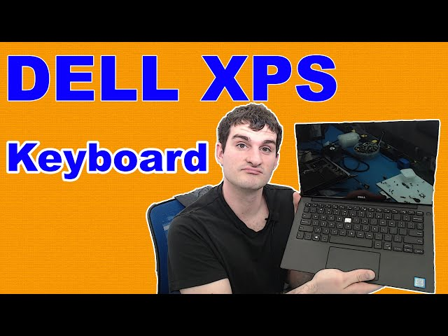 How to Replace a Dell XPS 9360 Keyboard : Basic