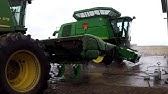 Washing the John Deere Combines and Post Harvest Cleaning