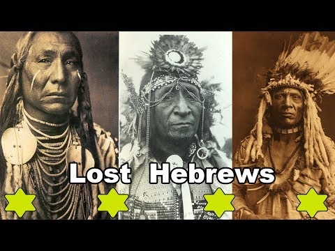 Hebrew Aboriginal Copper Colored Tribes of America - Moses/H