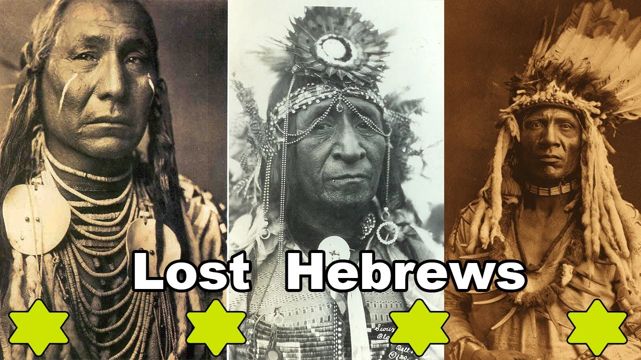 hebrew aboriginal copper colored tribes of america moses hawah