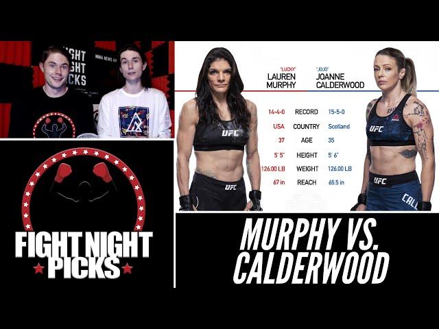 UFC 263: Lauren Murphy vs. Joanne Calderwood Prediction