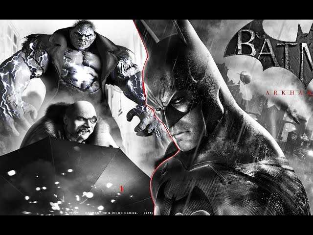Batman Arkham city # Enfrentado Solomon#