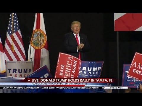 FULL EVENT: Donald Trump Rally in Tampa, FL 8/24/16