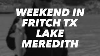Walleye fishing Lake Meredith 3/16/2019