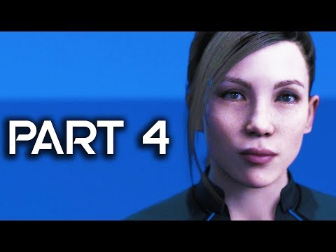 Detroit Become Human Gameplay Walkthrough Part 4 - Waiting For Hank - FULL GAME! (PS4 PRO Detroit)