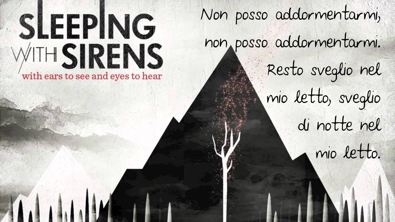 If I M James Dean You Re Audrey Hepburn Sleeping With Sirens Traduzione