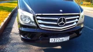 Заказ микроавтобуса Mercedes Sprinter в Москве.
