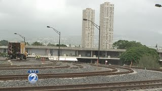 Rail operations center in Pearl City near completion