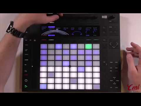 Live 10 Intro Ableton Push 2 Midi-Controller inkl