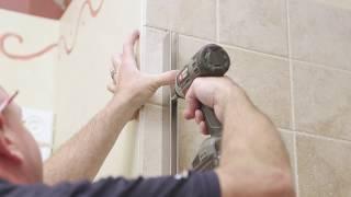 DIY Shower Door Installation How To - Celesta Adjustable Door and Panel by Basco CELA