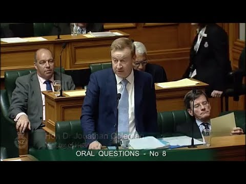 Question 8 - Dr David Clark to the Minister of Health