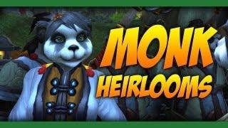 Monk Heirlooms - World of Warcraft: Mists of Pandaria
