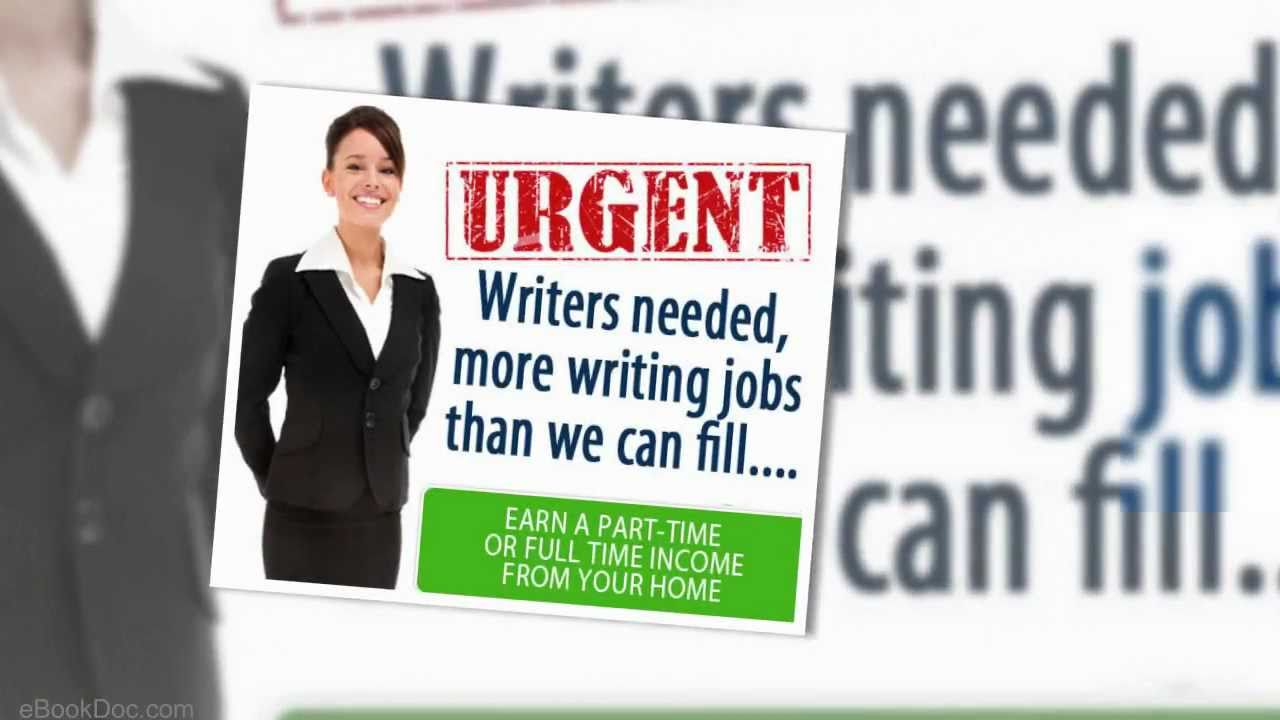 real writing jobs earn extra money writing