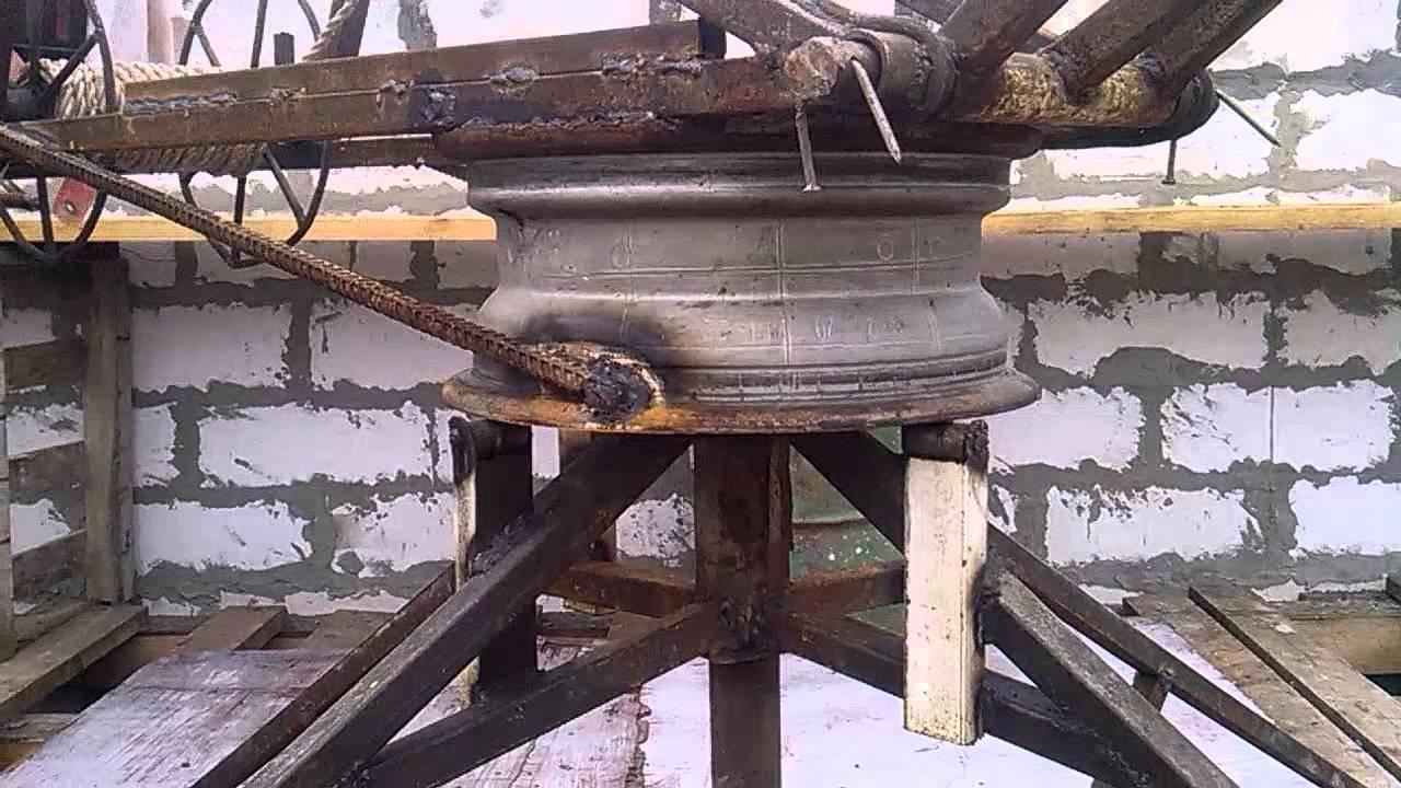 Мини строительный кран своими руками