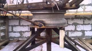 Ручной строительный разборный кран