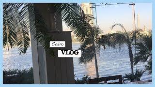 Vlog12: رحلتي للقاهرة لمده اسبوع | أول عزيمة لي برى السعودية تعالوا شوفوا قابلت مين ؟!!😻😱