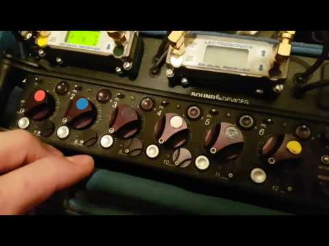 Sound Devices 688 Outputs and feeding IFB and Cans for directors etc..