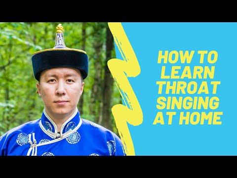 Throat Singing Online Master Class