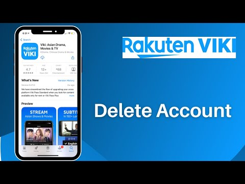 How to Delete Viki Account | Rakuten Viki app || www.viki.com