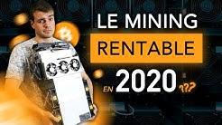 Le MINING de crypto est-il rentable en 2020 ? Avec quel mineur ?