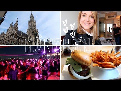 MÜNCHEN VLOG | Wochenendtrip, Freund & Rooftop Party | Charlotte K.