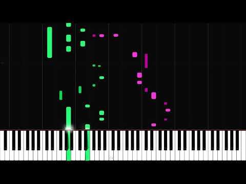 Your Reality - Doki Doki Literature Club! [Piano Tutorial] (Synthesia) // Just Keynime