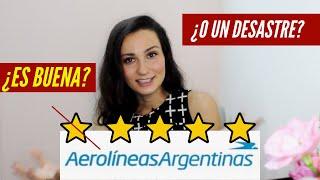 Aerolineas Argentinas - mi opinión sobre la linea aerea