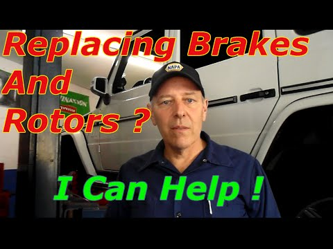 How To Replace Brakes And Rotors On A 2013 Mercedes Benz G63