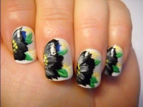 nail tutorial  elegant black beauty  youtube