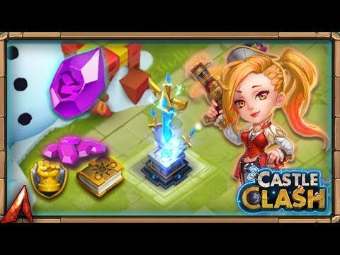 Going Over New Equipment Feature! Castle Clash