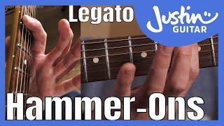 Fast Rock Legato Primer 1: Hammer-Ons   Technique Guitar Lesson Tutorial