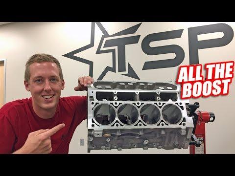 Leroy's INSANE New Engine! (serious power)