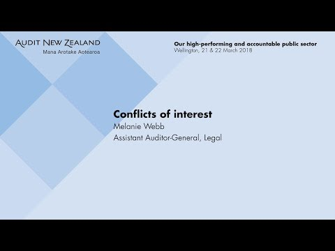 Conflicts of Interest – Audit New Zealand Client Update 2018