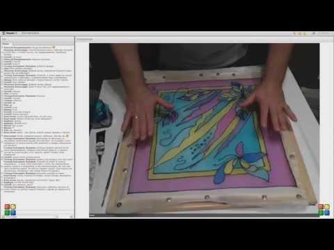 Роспись панно онлайн-урок Эдуарда Галумова скачать