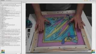 Роспись панно: онлайн-урок Эдуарда Галумова