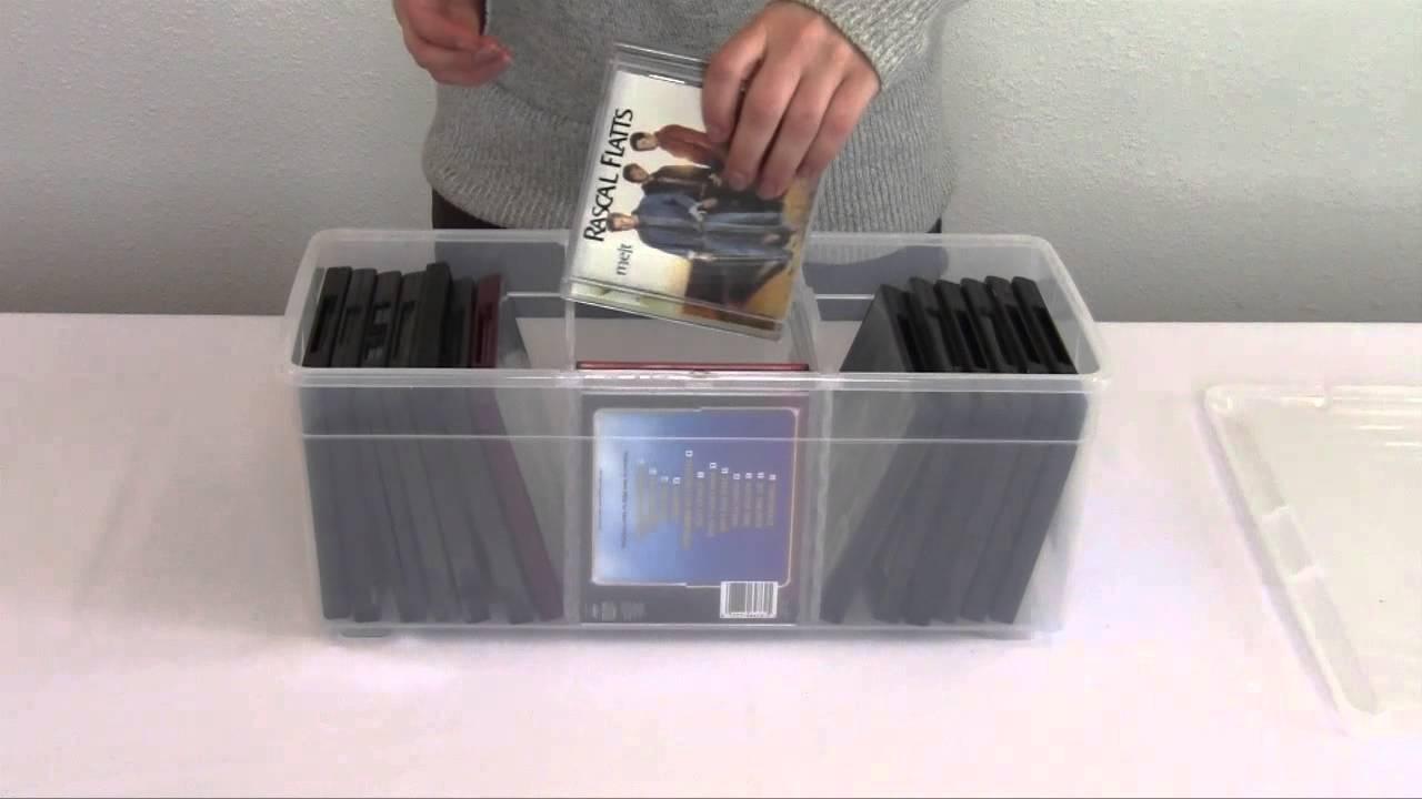 Iris Media Storage Box Small