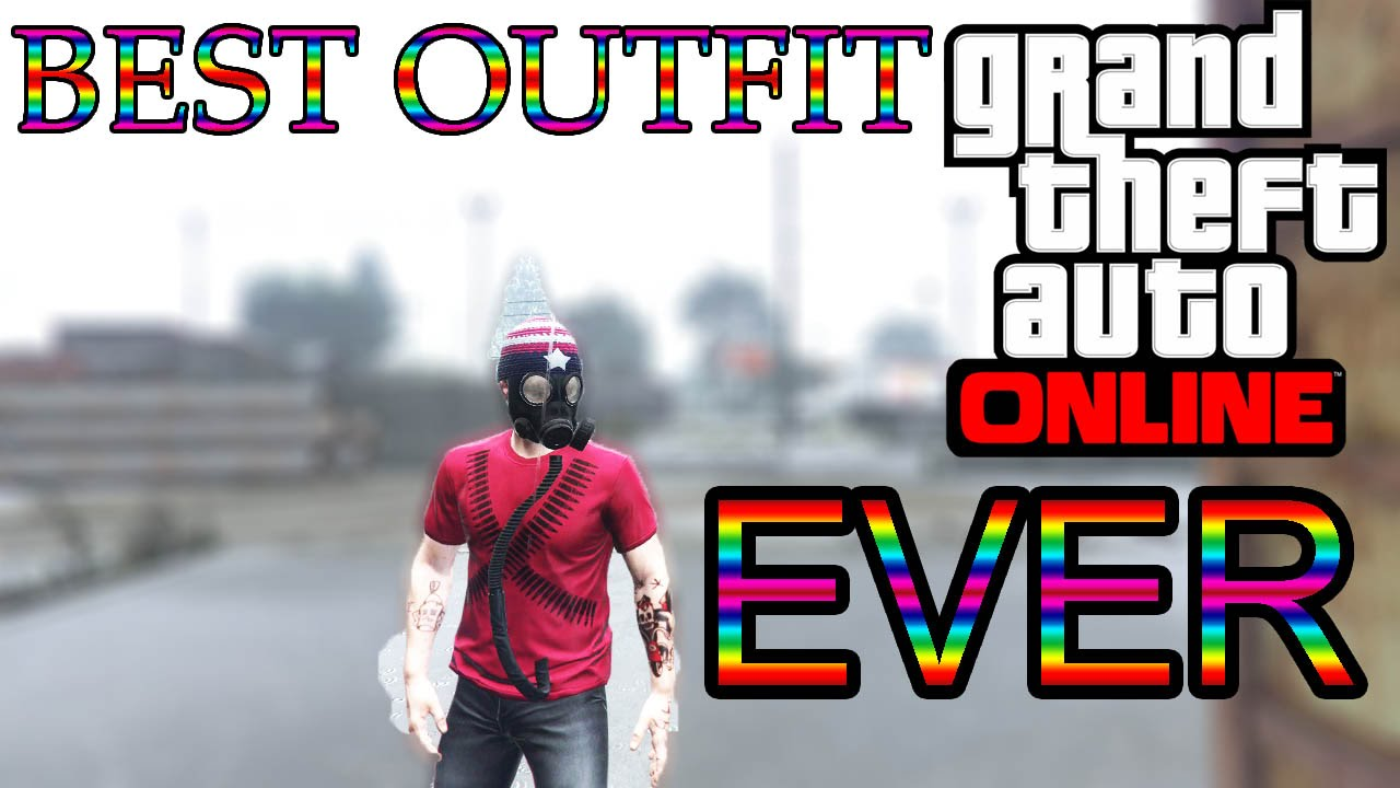 GTA 5 Online BEST OUTFIT *EVER* - GTA 5 (Xbox One PS4 PS3 Xbox 360 u0026 PC) - YouTube