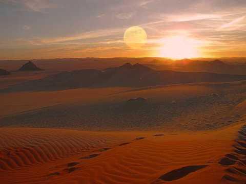 Tenere . Desert . Sahara
