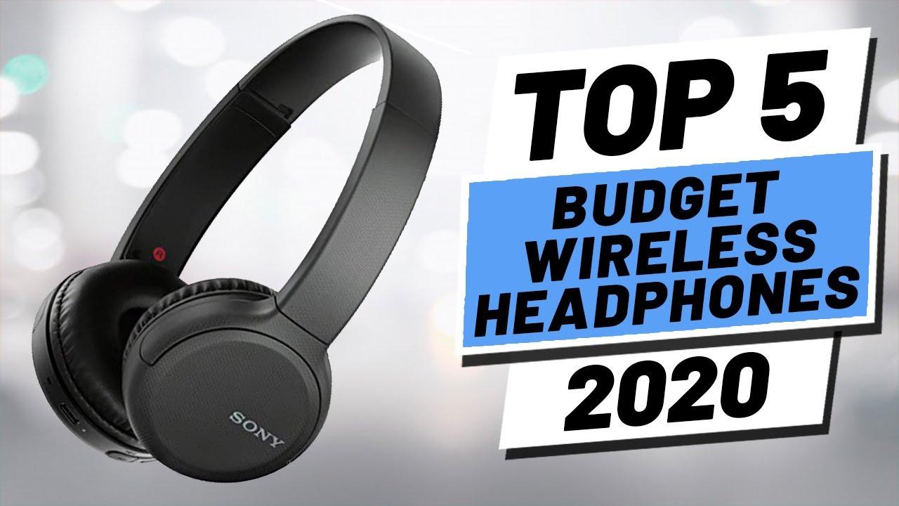 Top 5 Best Budget Wireless Headphones Of 2020 Youtube