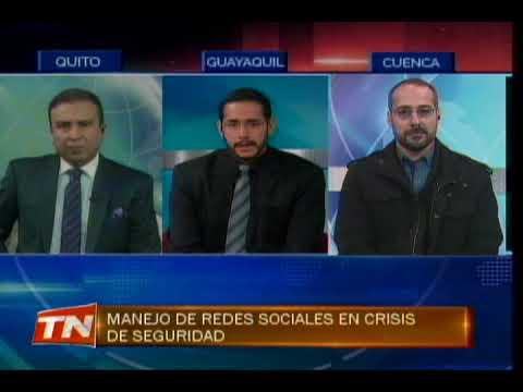 Manejo de redes sociales en crisis de seguridad