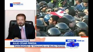 "Desafío de Irán podría ""desencadenar una tercera guerra mundial"": exdiplomático venezolano"