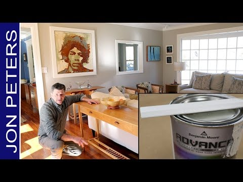 How to Spray Benjamin Moore Advance Paint + Things I've Made in my Home