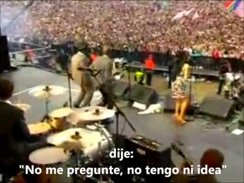 Amy Winehouse -LIVE- Rehab / subtitulado
