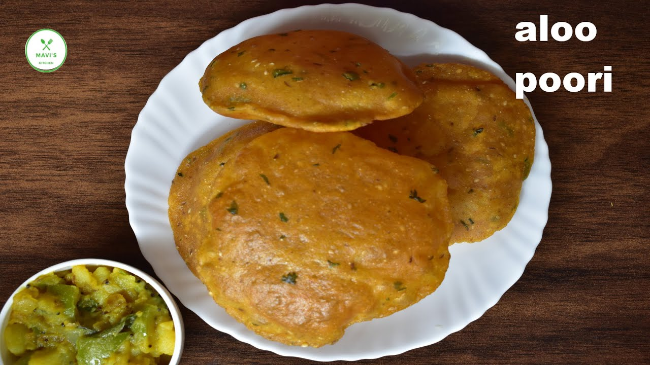 aloo puri recipe | aloo puri recipe | masala poori | potato puri