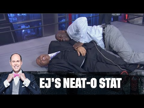 Shaq Wrestles Chuck Causing Chaos In Studio J | EJ Neat-O Stat
