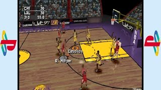PS1 - NBA Live 97 Gameplay