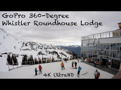GoPro HERO4 Black Whistler Roundhouse Panning in 4K UltraHD