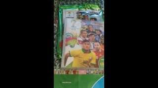 Focis kártya csomag bontás - UEFA VB 2014 Mega Star Pack Kibontása