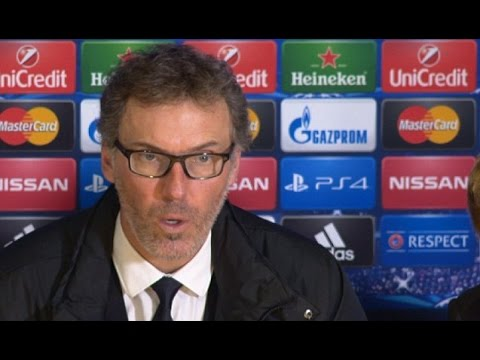 PSG - Laurent Blanc - We Played More Football Than Chelsea, Created More Chances (Français/English)